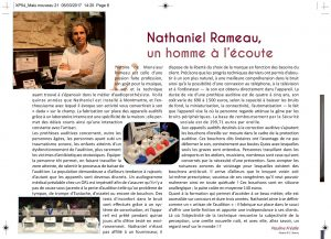 article nathaniel rameau